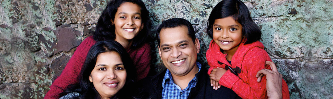 Bijy Surendran And Family